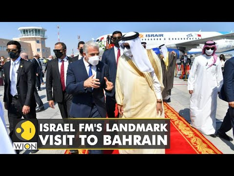 Israel foreign minister Yair Lapid visits Bahrain; focus on bilateral deals, talks on economy