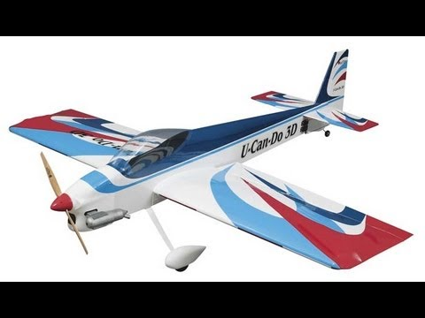 Great Planes U-Can-Do 3D - Winter Flight With Skies - UCz3LjbB8ECrHr5_gy3MHnFw