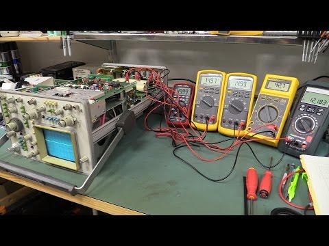 EEVblog #803 - HP1740A Analog Oscilloscope - UC2DjFE7Xf11URZqWBigcVOQ