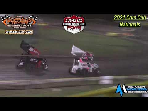 Buffalo River Speedway Minn-Kota Lightning Sprint A-Main (2021 Corn Cob Nationals) (9/12/21) - dirt track racing video image