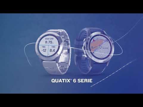 Die neue quatix 6 Wassersport Smartwatch