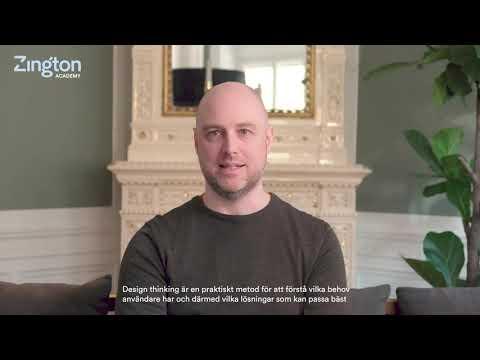 Vad är design thinking? Martin Christensen, kursledare för Zington Academy, ger sin syn på saken.