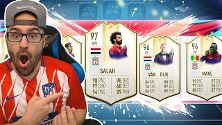 OMG WHAT A DRAFT! HIGHEST RATED LIVERPOOL DRAFT CHALLENGE! FIFA 19 Ultimate Team