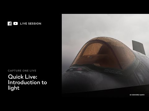 Capture One 20 | Quick Live : Introduction to light