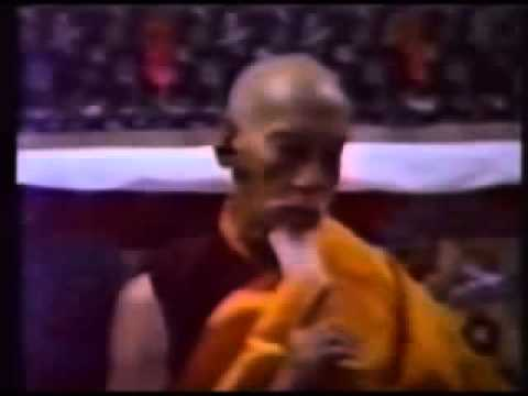 His Holiness Kyabje Zong Rinpoche teaches the truth of life and our impeding death.