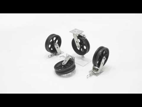 AHA-2/4-V Pneumatic Casters Options for Aluminum Gantry Crane