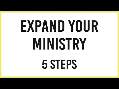 Grow Your Ministry (5 Tips)