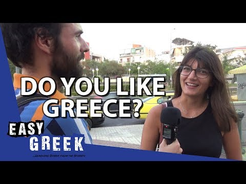 Do Greeks like Greece? | Easy Greek 42 photo