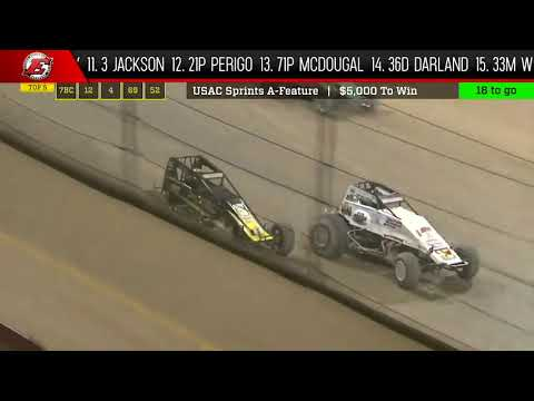 Watch the full race and more at www.Loudpedal.TV. - dirt track racing video image
