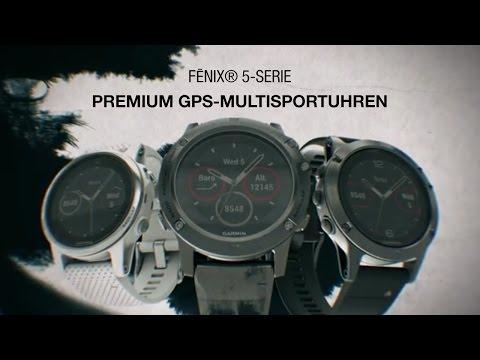 fēnix® 5-Serie - GPS-Multisport-Smartwatches der Superlative