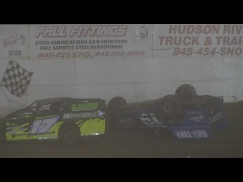 Accord Speedway Modified's and Sportsman 7-30-21 - dirt track racing video image