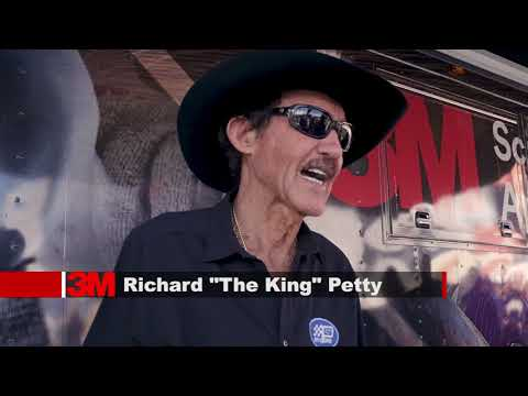 """Richard """"The King"""" Petty Joins 3M For SEMA 2017"""