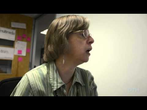 Media and journalism professor Lois Boynton reads and reacts to her reviews on Rate My Professors.com