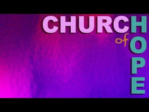 Sunday morning service at Church of Hope, 03/22/2020