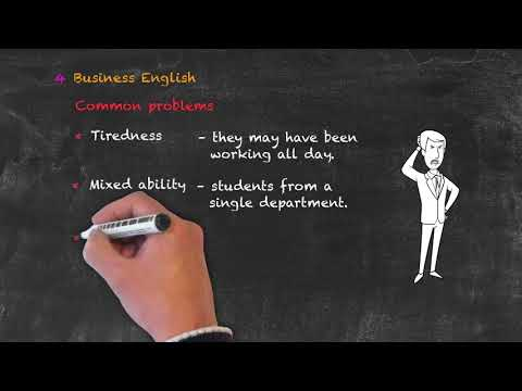 Teaching Special Groups in ESL - Problems with Business English Classes