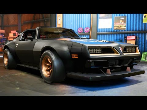 PONTIAC FIREBIRD - DLC Car #1 - Need for Speed: Payback