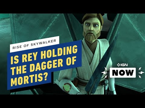 Is Rey Holding the Dagger of Mortis in the Final Star Wars: The Rise of Skywalker Trailer? - IGN Now - UCKy1dAqELo0zrOtPkf0eTMw