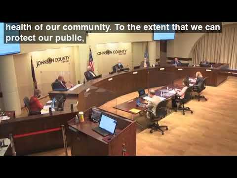 Chairman Ed Eilert comments on the mask mandate