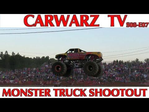 CARWARZ TV - S8E07 - Michigan Monster Truck Shootout At St Clair County Fair 2018