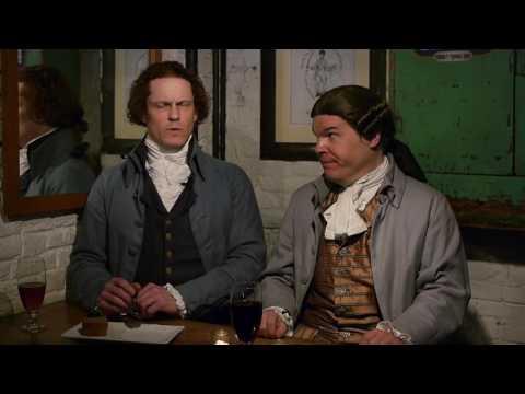 """Thomas Jefferson & John Adams in """"A Fly in My Soup"""""""