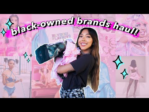Black-Owned Business Try-On Clothing Haul! | Nava Rose