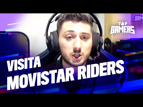 VISITA de MOVISTAR RIDERS | TOP GAMERS ACADEMY