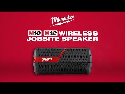 Milwaukee® M18™/M12™ Wireless Jobsite Speaker