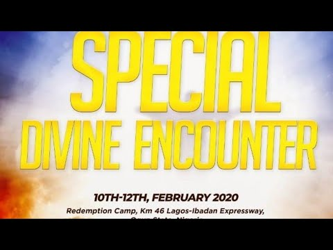 RCCG SPECIAL DIVINE ENCOUNTER 2020 - DAY 1
