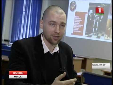 Преподаватель ИБМТ БГУ Анатолий Стебурако на телеканале Беларусь 1