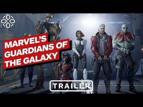 Marvel's Guardians of the Galaxy – bejelentő előzetes