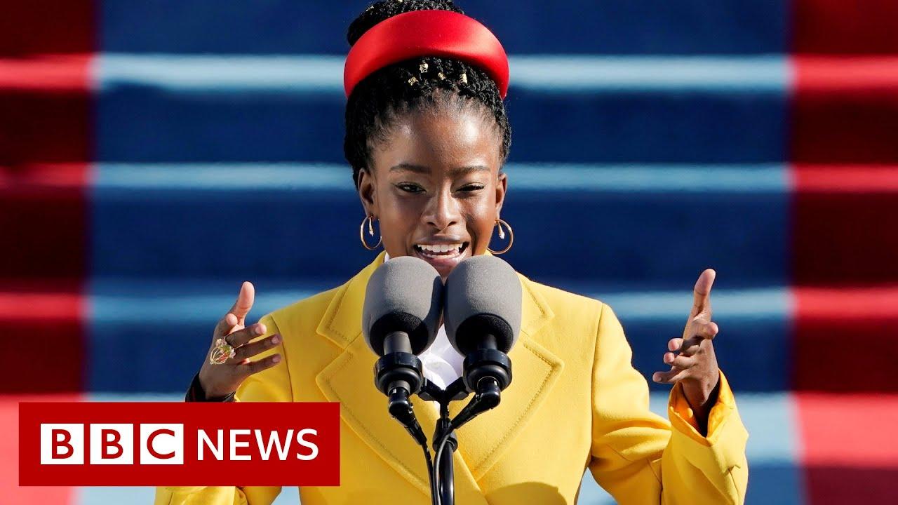 Inauguration poet Amanda Gorman: 'My life changed in six minutes' – BBC News