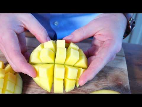 Så skär du mango snabbt och enkelt