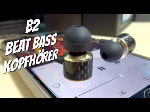 B2 Beat Bass in Ear Kopfhörer im Test  - Wirklich viel Bass oder was ?  Review melkco - default