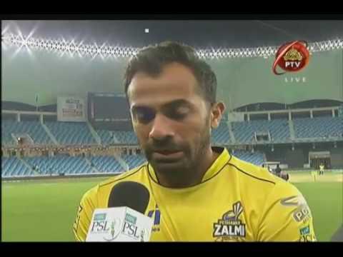 Wahab Riaz Dedicates This Victory To His Father