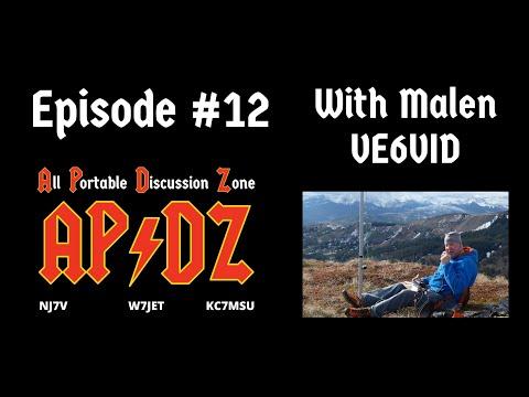 Episode #12 - Malen VE6VID