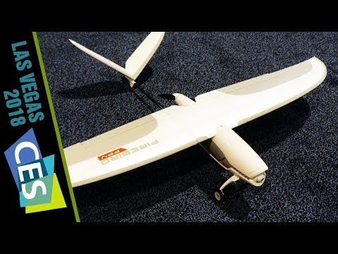 Yuneec Introduces Fixed-Wing Firebird FPV Drone at CES 2018 - UC7he88s5y9vM3VlRriggs7A