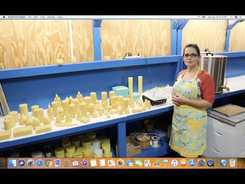 How to Make Beeswax Candles - UCDyga7OtRJSzHzXXXurYCmQ