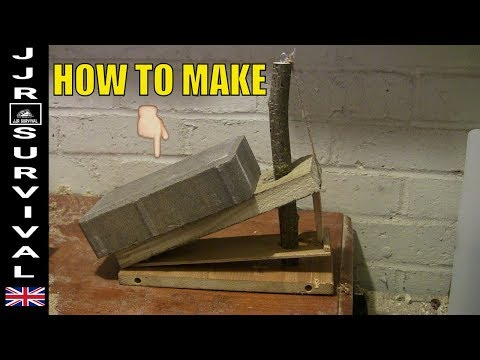 How To Make A Deadfall Mouse Trap
