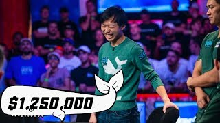 2019 World Series of Poker 8th Place: Timothy Su