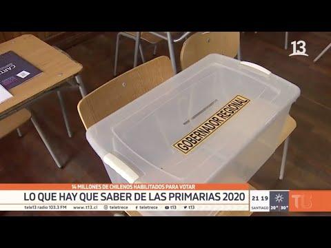 Primarias 2020: Lo que hay que saber para ir a votar