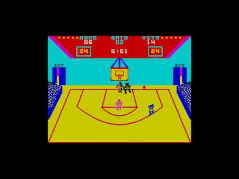 Clasicos del Spectrum: GBA Basketball Two-on-Two (Gamestar/Activision)