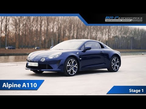 Alpine A110 1.8 TCe 252ch Stage 1 By BR-Performance