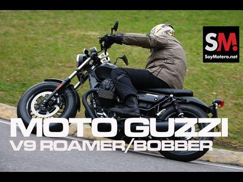 Prueba Custom: Moto Guzzi V9 Roamer/Bobber 2016