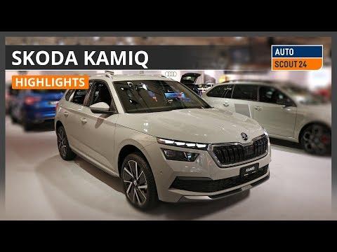 SKODA Kamiq - Highlights von der Auto Zürich 2019