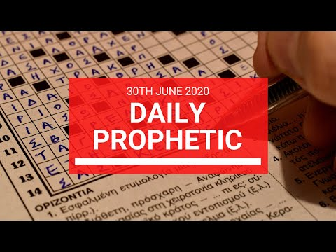 Daily Prophetic 30 June 2020 7 of 7