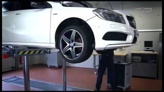 Smontaggio paraurti Mercedes Classe A W176