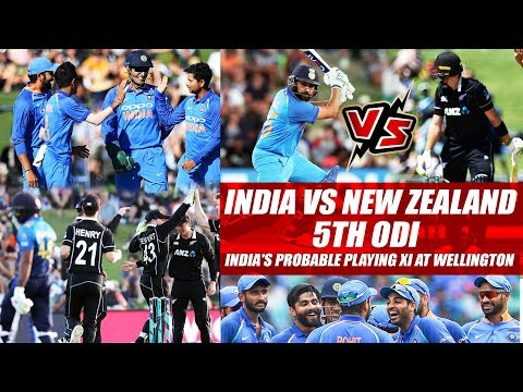 India vs New Zealand 5th ODI: India's Probable Playing 11 At Wellington