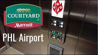 Otis Series 1 Hydraulic Elevators - Courtyard Marriott PHL Airport, Philadelphia, PA