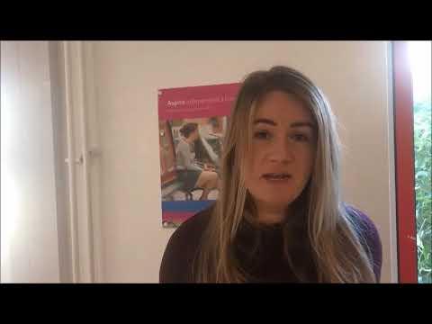 Aspire's Welfare Benefits Advice Manager Nicola Lazare 12th February 2018