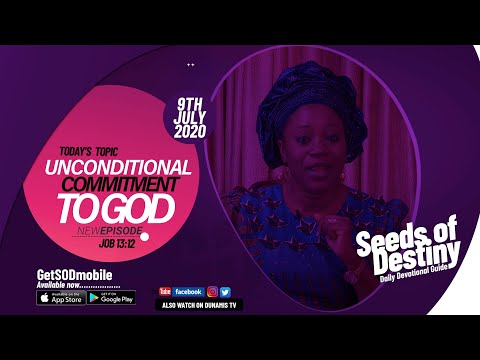 Dr Becky Paul-Enenche - SEEDS OF DESTINY - THURSDAY JULY 9, 2020